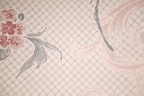 Полиэстер роза вязаный воздушный слой