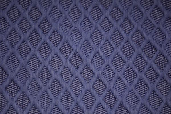 Синий алмаз вязаный воздушный слой