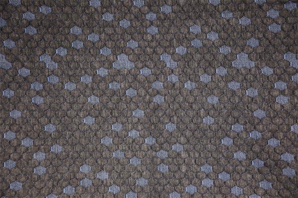 Синий шестигранный конопли серый вязаный воздушный слой