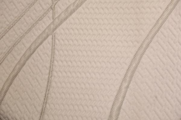 Серебряный полосатый двухсторонний вязаный воздушный слой