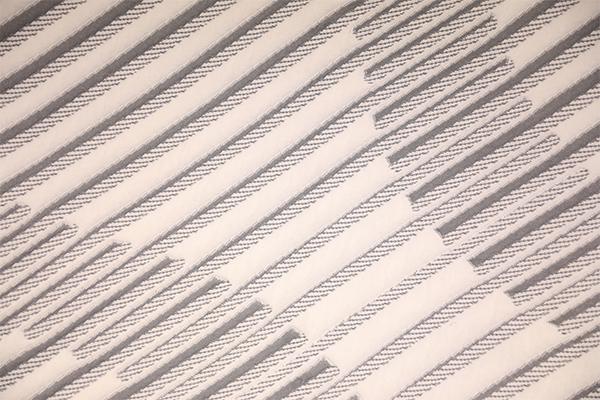 Полосатый мягкий вязаный воздушный слой